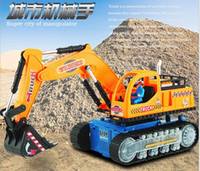 big recharger - 2016 New big excavator truck with music and light Recharger Super Power Navvy Navvy Toy Children Toy