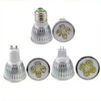 mr16 - High Power Cree Led Light Bulbs E27 B22 MR16 W W W Dimmable E14 GU5 GU10 Led Spot lights led downlight lamps