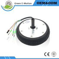 Wholesale Electric Brushless Gear Wheel Motor quot V W W Electric Robot Electric Wheelbarrow Golf Cart High Torque