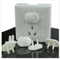 Wholesale Baby Safety hole and hole Outlet Covers Insulation socket protective cover fast shipping JF