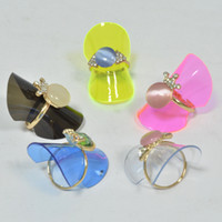 Jewelry Stand big plastic sheets - Big Sales Clear Sheet Plastic Rings Displasy Show Jewelry Holder Case