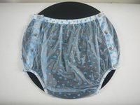 Wholesale ADULT BABY incontinence PLASTIC PANTS P004