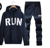 Wholesale mens sports suits hoodies sweatshirt set tracksuit men hoodie man sport sweat survetement chandal hombre sudaderas jogging suit