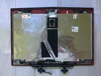 Wholesale original For DELL Alienware M14X R2 laptop red back cover C44HY C44HY AP0G8000110 with DC020017Q00 LED cable hinges