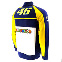 Wholesale Valentino Rossi VR46 M1 MotoGP Factory Racing Team Adult Hooded Sweatshirt Sports Jackets