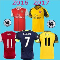 arsenal polo shirts - Thai Quality Arsenal Soccer Jerseys OZIL WILSHERE RAMSEY ALEXIS rugby jerseys football shirt