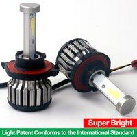 automotive led headlamps - 1Set X6 Car LED Headlight Bulbs White lm with High Low Beam Automotive LED Headlamp K Cool White Yr Warranty