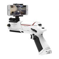 Wholesale 2017 Most Popular PP GUN Mini Motion Sensor Gamepad Shooting Game Gun Mobile FPS Selfie Game Controller Bluetooth for iOS Android