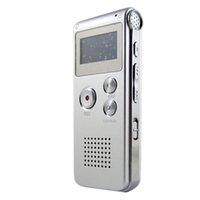 < 1GB audio learn - Top Quality G Voice Recorder Silver Rechargeable Portable Interview Study Learning Tool with USB Audio Cable