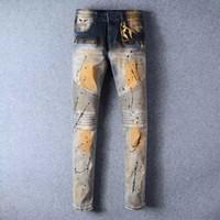 Wholesale MEN ROBIN WINGS STRAIGHT LEG JEANS DENIM LONG FLAP NWT size
