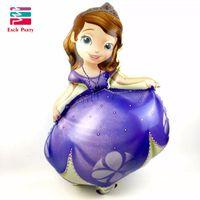 Precio de Globos inflables gigantes-Globo gigante Princesa sofia cumpleaños Globos globos de helio princesa sofia festa decoracao Niños Globo inflable grande