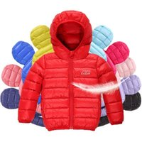 Wholesale 2016 trendy thin down jacket children boy candy han edition child down jacket down jacket coat color of the girls