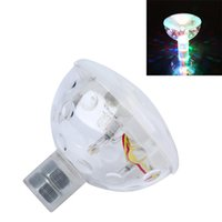 Wholesale LED Light Show Colour Changing Floating Disco Ball Bath Tub Swimming Pool Underwater Lights a2