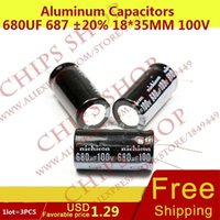 Wholesale Aluminum Capacitors uF mm V nF pF Diameter18mm