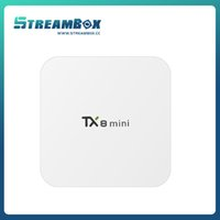 Wholesale Amlogic S912 up to GHz Quad core ARM Cortex A53 TX8 MINI TV TOP box