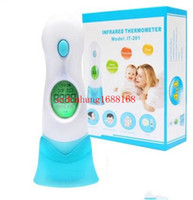 Wholesale 20pcs Muti fuction IN BABY DIGITAL TERMOMETER ADULT CHILD BODY IR FOREHEAD EAR INFRARED THERMOMETER ItAlo
