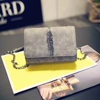 abs contracting - Spring new frosted one shoulder bags Han edition contracted fashion chain bag