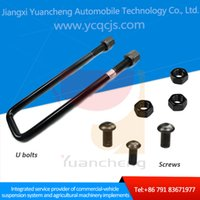 automobile oem parts - Automobile Parts OEM Service Grade Trailer U Bolts Fasteners Manufacturers for Mitsubishi