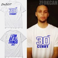 basket ball clothing - Stephen Curry jersey t shirt men I Can Do All Things basket ball tee shirt men brand clothing short sleeve top tee tx2386