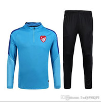 Wholesale football jerseys Thailand Quality New Real Turkey Long Sleeve Training Clothing Embroidery
