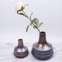 Wholesale DH Morden style handmade Ceramic Flower Vase home Decorative tabletop porcelain vase house decor