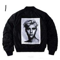 alpha khaki - Purpose Tour X Alpha MA Jacket Men Justin Bieber Bomber Jakets Hip Hop Skate Fear of God Kanye Motor Alpha WWII Pilote Veste