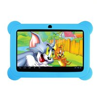 best laptop webcam - Best gift for kids GB inch Android4 A33 Core Tablet PC Laptop Children Touch Screen with free Silicone Case