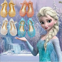 Wholesale 2015 anna baby shoes and baby shoes children elsa elsa princess and cosplay party shoes and comfortable
