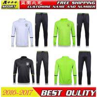 Wholesale Survetement adults in German green training suit men s jersey clothes jogging pants chandal adul