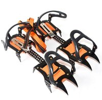 Wholesale 2017 Men s Crampons Ski Belt High Altitude Hiking Slip resistant Crampon Ice Gripper for Winter Outdoor Skiing