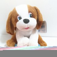 baby dog games - Russian language talking small puppy dog puppy Stuffed plush electronic toys Christmas birthday gift for kids baby children