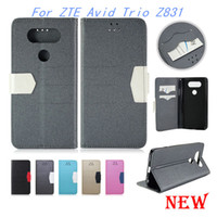 beach wallet - Wallet case For ZTE Avid Trio Z831 metropcs Flip pu Leather Beach lines cover credit card slots For HTC ONE EVO V20 MINI