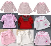 baby blouse design - Spring Style Leopard Prints Baby Blouse Little Girl Shirts Long Sleeves Design Selection Mix Size