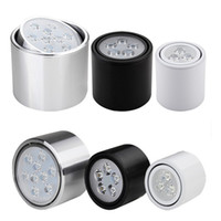Wholesale 7w w w high power Led track lights AC85 V down lights hot sales LED ceiling lights retails lamps
