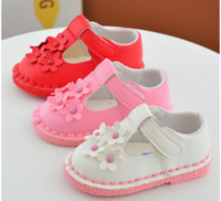 Wholesale Summer New Style baby flower square mouth baby toddler shoes years old newborn princess leisure soft bottom spring girl shoes