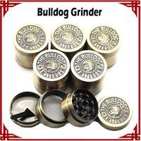 big bulldog - big sale Bulldog Grinders Herb Grinders mm Layers Metal Grinder Zinc Alloy Tabacco Grinder VS Sharpstone Lighting Grinders