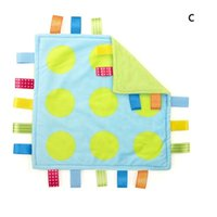 Wholesale 30 cm Security plush Baby appease towel Baby calm wipes baby towel for months WA1664