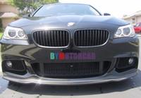 Wholesale AK Style Carbon Fiber Front Lip Spoiler F10 MTech Msport Front Bumper Fir For BMW