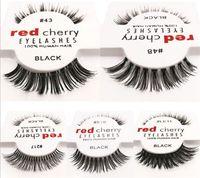 Wholesale 120pcs styles RED CHERRY False Eyelashes Fake Eye Lashes long and vol A105