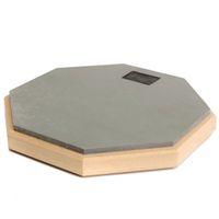 Wholesale 8 inch Rubber Wooden dumb drum Silent Practice Drumpad For Beginner Drumming Quiet Training Drum pad For Drummers