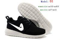 Wholesale 2016 Autumn New Leisure fashionable Women casual shoes rosh runs outdoor breathable Men shoes size