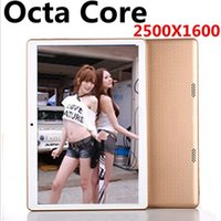 Wholesale NEW inch core Tablet PC Octa Cores IPS DDR GB ram GB MP WIFI G Dual sim card Wcdma GSM Tablets Android OTG
