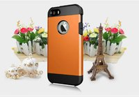 apple orang - dazzling Armor Hard PC Soft TPU Hybrid Back Cover Case for iPhone plus SHINE ORANG NEW ARRIVAL factory price