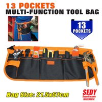 Wholesale New Pocket Pouch Electrician tool bag Multifunction Carpenter Contractor Construction Tool Belt Bag
