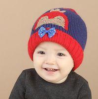 baby boy types - Fashion Styles Winter Season penguin types Colorful Kids Soft warm Hat Boys Knit Hat Baby Girl Crochet Hat