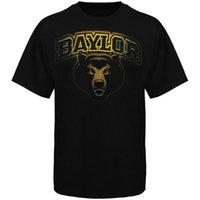 bears shirts - 2016 New Arrival Baylor Bears Midnight Mascot T shirt Hot press Men College Primer shirt black long sleeved T shirt Size M XL