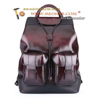 Wholesale berlut backpack italy imported leather men women bags