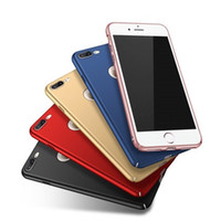 Wholesale 100 MSVII Original For Apple iPhone Plus Ultra Thin Slim Hard Back Case Cover Phone PC Shockproof Simple Matte iPhone s s SE etc