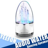 Precio de Fuente de la música llevado-Luz LED Bluetooth Música fuente agua bailando altavoz con ranura para tarjeta de TF Stereo Bass y computadora MP3 MP4 Audio
