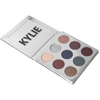 Wholesale New Holiday edition Kyshadow THE BURGUNDY PALETTE Kylie Cosmetics Jenner eyeshadow Kit Palette Bronze Cosmetic Colors Dropshipping